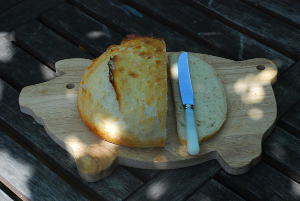 pig bread board