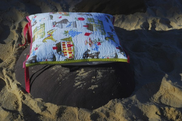 cushion in the sand