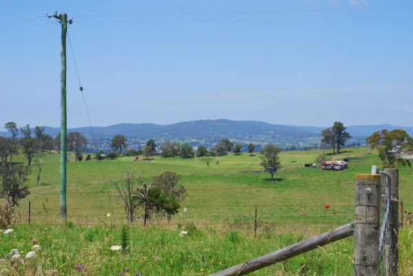 bega in the distance