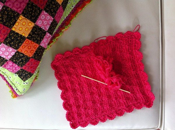 dishcloth knitted