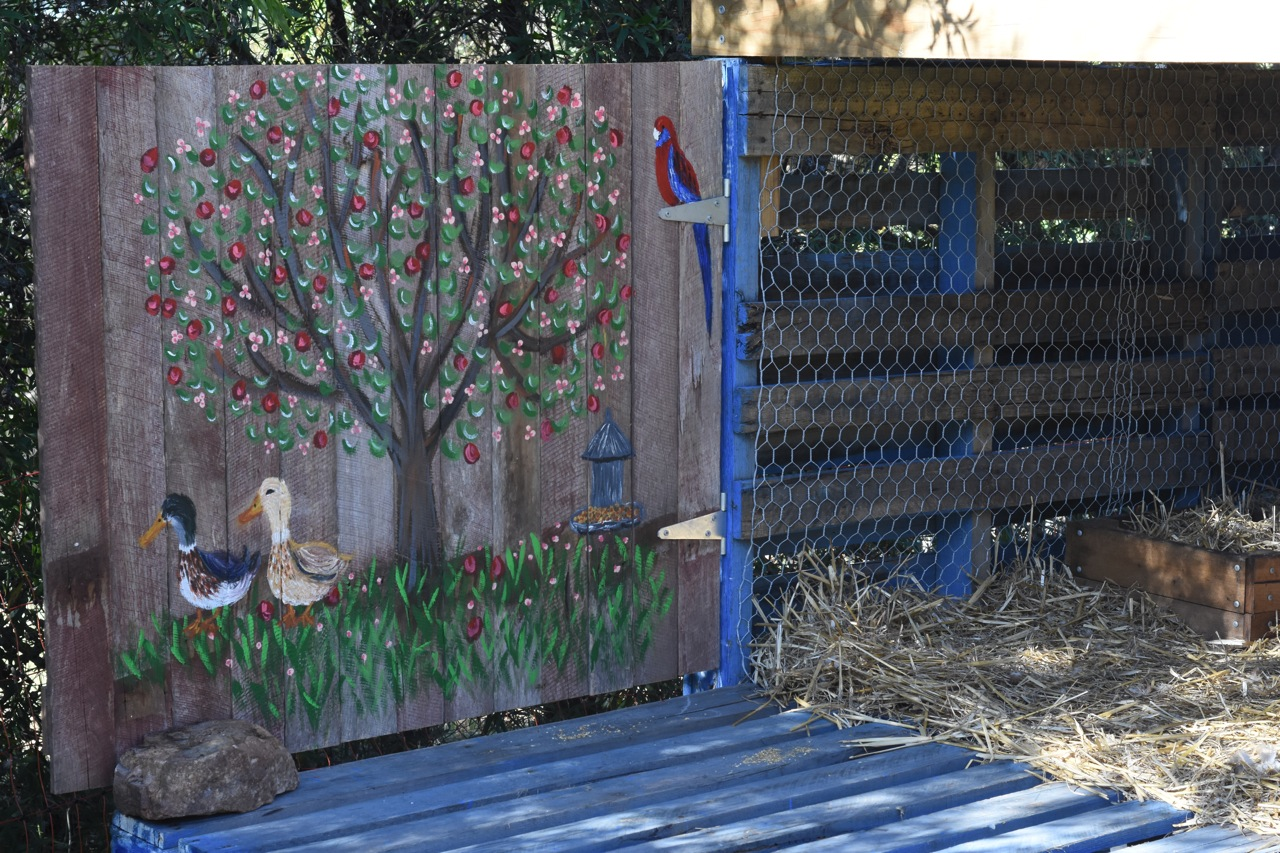The Duck & Goose  :: my painted farm