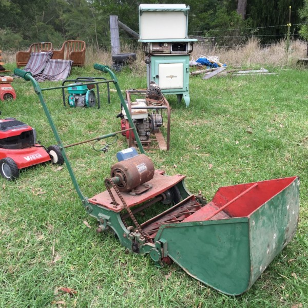 mower and cooker